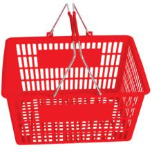 Divertido e colorido 45 L comercial cesta 20L 21L da cesta de supermercado cesta plástica