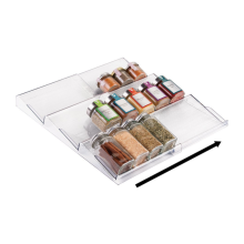 Expandable Spice Rack Organizer For Kitchen Drawer