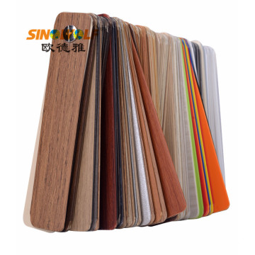 Projekt klienta Woodgrain Color Hot-Sale PVC Edge Banding