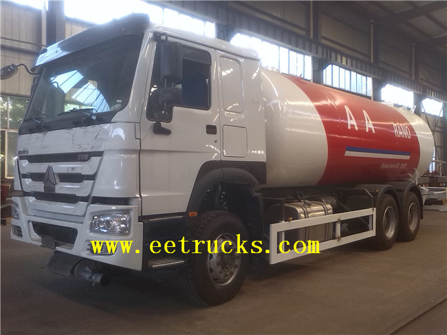 24 CBM LPG Gas Filling Tank Trucks