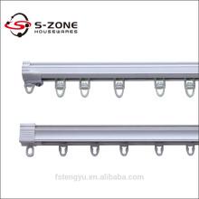 Rail de rail à rideau pvc de haute qualité pour rideaux coulissants