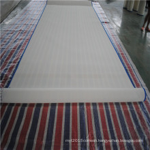 Polyester plain weave mesh screen belt for food conveyor