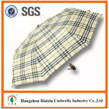 "Special Print stripe stick 23"" auto umbrella with Logo"
