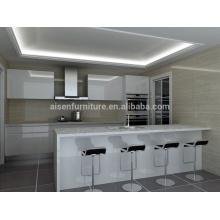 Profissional na Austrália mercado popular design gabinete de cozinha moderno