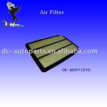 Filtro de aire del panel de Mitsubishi