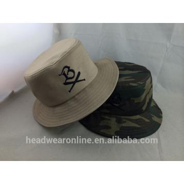 Moda 100% algodão de alta qualidade bordado Bucket Hat