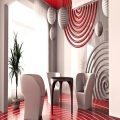 3D Wall Panel Concentric