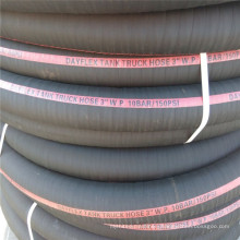 China Manufacture 3 Inch Viton Black Bio-Diesel Oil Suction Hoses 121 Degree