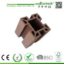 Anti-UV Eco-Friendly Cheap Wood Plastic Pergola Post /WPC Fence Post