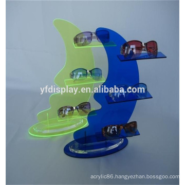 Fashionable Style Acrylic Display Shelf for Sunglasses