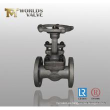 Válvula de globo de vástago de levantamiento de hierro fundido
