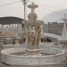 Stein Marmor Wasser Brunnen für Garten Skulptur (SY-F354)