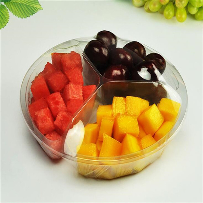 Plastic Fruit Salad Container