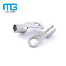 Conectores terminais não isolados de cobre habilitados do anel do fio do CE para prender