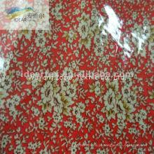 PVC laminado impresso algodão poliéster tecido de TC para têxteis-lar