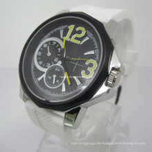Neue stilvolle Silikon-Uhr (HAL-1271)