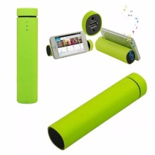 Portable Phone Charger Advertising Power Bank with Speaker