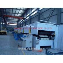 High efficiency large warehouse sandwich panel production line