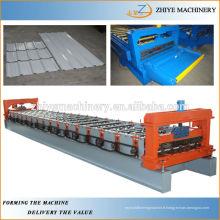 Machine de formage de tuiles en métal galvanisé / plaque murale
