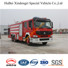 16ton HOWO Foam Firefighting Vehicle Euro4