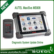 Original Autel MaxiSys MS908 OBD 2 Bluetooth Scanner Wireless Touch Screen Display Universal OBD2 Scanner