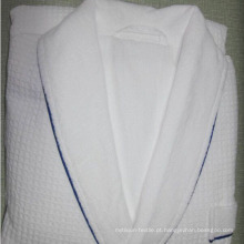 Roupão de gola xale para uso do hotel / home (dpf10130)
