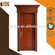 2015 natural style wooden door environment friendly solid wood doors