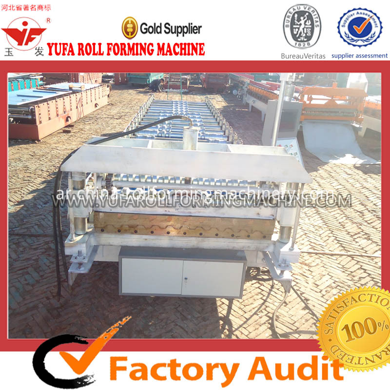 C21 new design roof roll forming machine