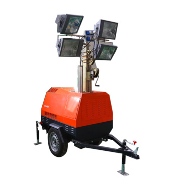 Hot sale mobile industrial light tower