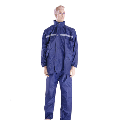 nylon police Raincoat Set