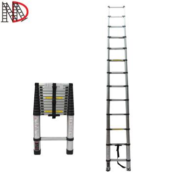 3.8 meter Single Telescopic Ladders Aluminium Easy To Use