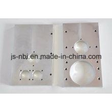 Алюминиевая заводская часть машинной плиты для использования двигателя / литья под давлением