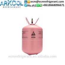 Refrigerant gas R410a 99.9% high purity mixed refrigerant