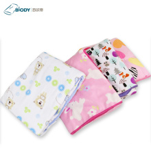 Umweltfreundliche bequeme Tier Baby Jersey Decke Swaddle