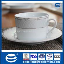 220cc королевский золотой декор фарфоровая чашка чая и блюдце