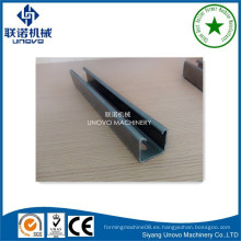 41x41slotted acero unistrut y canal de puntal