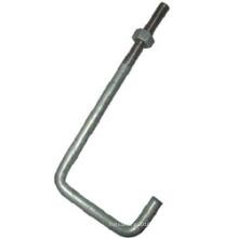 Bolo de âncora de aço leve L com nozes
