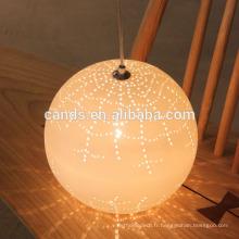 Décoration Lustre Éclairage Lampe suspendue en céramique