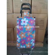 Venda por atacado saco de carrinho de compras de poliéster