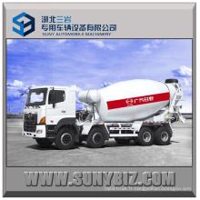 12 Cubic Hino 700 Camion mélangeur de béton 8X4 Mixer Truck