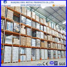 Heavy Duty Warehouse Galvanized Vna Pallet Rack
