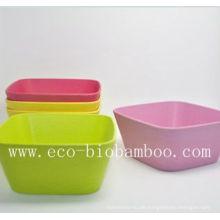 (BC-B2011) Hochwertige Naturalbamboo Faser Tafelschale