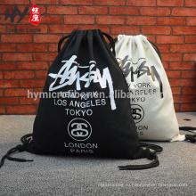 Пользовательские печать хип-хоп скейтборд сумка рюкзак холст