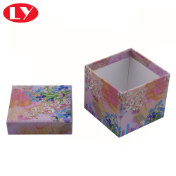 Custom made small square present gift boxes