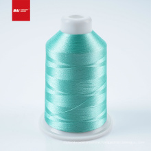 BAI Hot sale DIY colorful variegated 120d embroidery thread 100% polyester