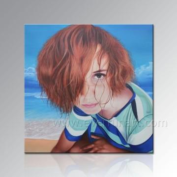 Porträtmalerei von deinem Foto