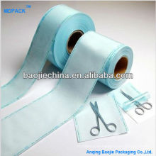 Paquete de esterilización de dispositivo médico Rollo