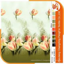 Le tissu de fleurs imprimé 3D s'applique au textile à la maison