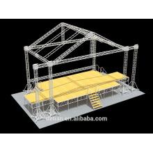 Горячая Распродажа алюминиевая система Ферменной конструкции освещения ферменной конструкции напольного этапа с шатер ферменной конструкции