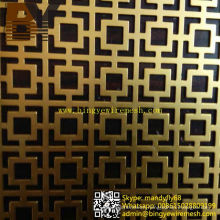 Aluminum Perforated Wire Mesh Screen